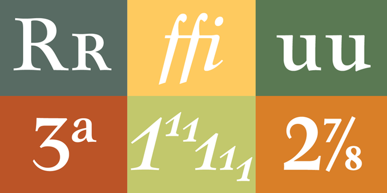 Mauritius Official Font Sample